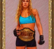 Womens MMA Champ by DonLeeCastillo