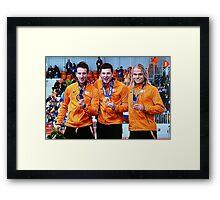 *The WINNERS*  Framed Print