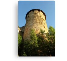 Tower Ivangorod fortress Canvas Print
