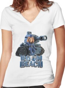 twg Women's Fitted V-Neck T-Shirt