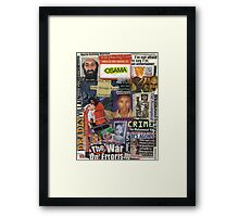 The War of Errors Framed Print