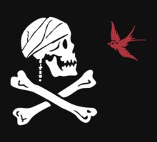 The Flag of Captain Jack Sparrow by NevermoreShirts