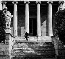 Academy of Athens by Spyridon