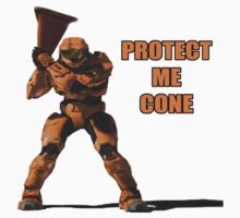 Red vs Blue - Protect Me Cone Kids Clothes