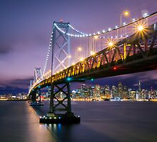 San Francisco Bay Bridge by Jerome Obille