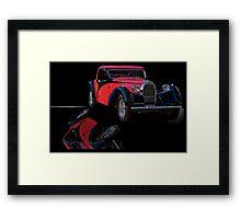 1937 Bugatti Type 57 Atalante Coupe I Framed Print