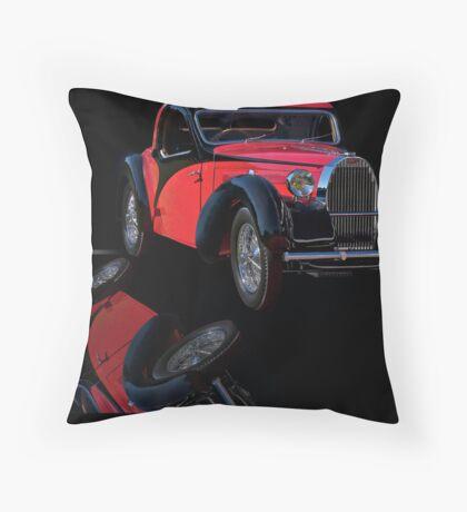 1937 Bugatti Type 57 Atalante Coupe I Throw Pillow