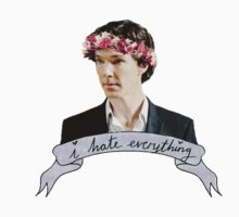 Sherlock Holmes flower crown by shellc0de