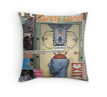 Dystopia Rising Throw Pillow