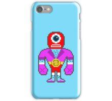 Pixel Luchador - Cyclops iPhone Case/Skin