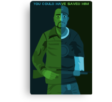 Walking Dead - You Could Have Saved Him Canvas Print
