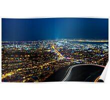 San Francisco City Skyline Poster