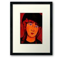 portrait of lolottle Framed Print