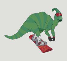 Snowboardosaur by Christina McEwen