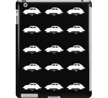 VW Bug History White iPad Case/Skin