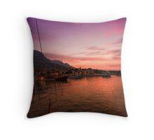 Sunset on an Adventure Throw Pillow