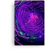 Psychedelic Exposure Canvas Print