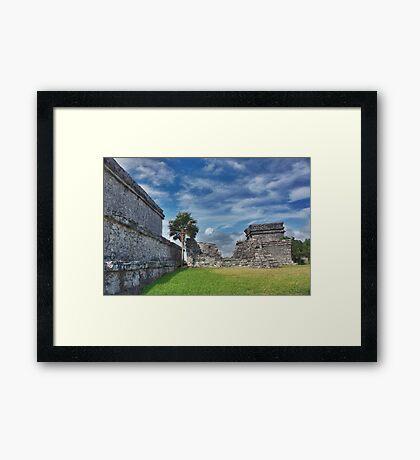 Mayan Memories Framed Print