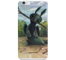 Painty Toothless iPhone Case/Skin