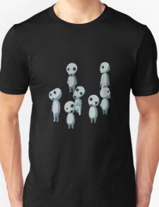 Princess Mononoke, Ghost (Kadama) Unisex T-Shirt