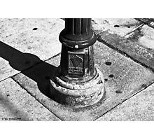 Lamppost base Photographic Print
