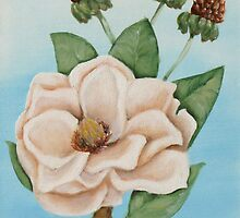 White Magnolia #2 by Jewel  Charsley