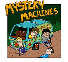 Mystery Machines Album Cover Photographic Print