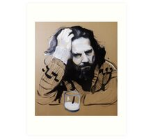 The Dude - The Big Lebowski Art Print
