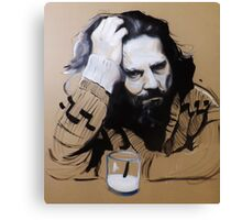 The Dude - The Big Lebowski Canvas Print