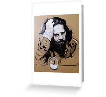 The Dude - The Big Lebowski Greeting Card
