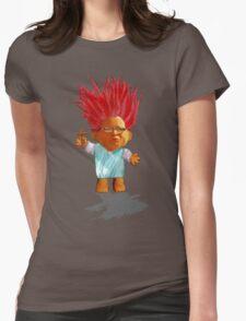 Kim Davis troll doll Womens Fitted T-Shirt