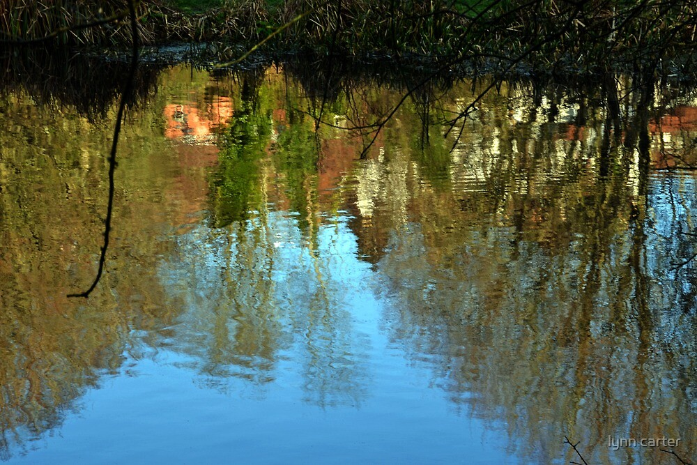 Reflections At Yeovil Somerset UK by lynn carter