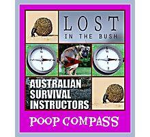 poop compass Photographic Print