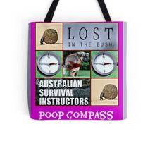 poop compass Tote Bag