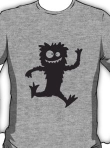 Running jumping fast hairy Monster T-Shirt