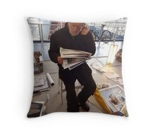 Old Man of the Sea 2. Throw Pillow