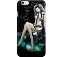Sitting on a space cloud iPhone Case/Skin