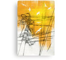 Don't Leave Me Hanging On A Telephone Canvas Print