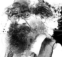 The man with a beard by Alessandro Andreuccetti