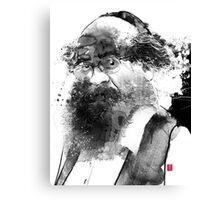The man with a beard Canvas Print