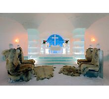 Ice Church, Sorrisniva, Norway Photographic Print