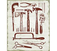 Tools of the Trade Photographic Print