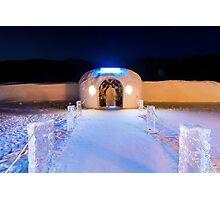 Sorrisniva Ice Hotel, Norway Photographic Print