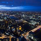 London by Night by Graham Ettridge