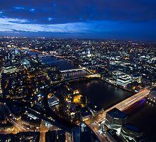 London by Night by Graham Ettridge