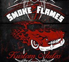 Smoke and Flames Kustom Auto by Mehdals