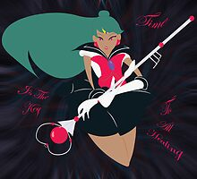 Time - Sailor Pluto by Theneeko