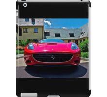 Ferrari California iPad Case/Skin