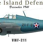 Wake Island Defender by CobbWebb