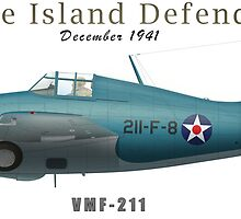 Wake Island Defender by CobbWebb